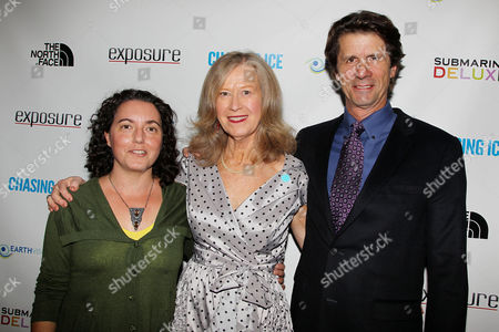 Stock Picture of Jane Saltzman, James Balog and KC Verbeck
