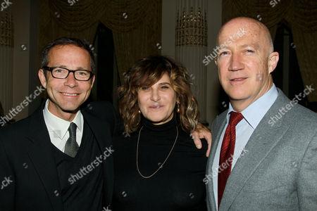 Richard Lovett, Amy Pascal and Bryan Lourd