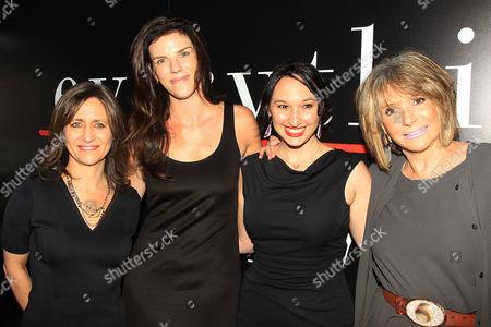 Lisa Heller, Annabelle Dunne, Carly Hugo, Sheila Nevins