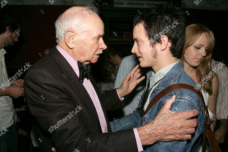Boris Leskin and Elijah Wood