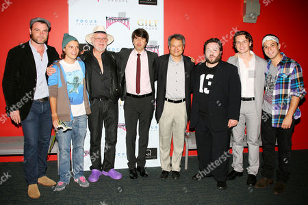 Liev Schreiber, Emile Hirsch, Elliot Tiber, Demetri Martin, Ang Lee, Dan Fogler, Jonathan Groff and Sklar Astin