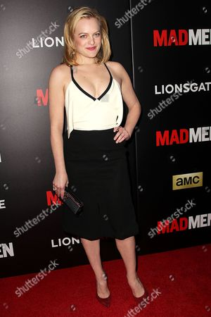 Stock Picture of Elisabeth Moss