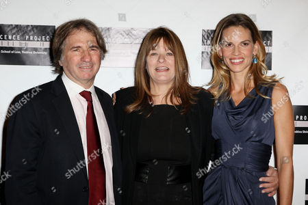 Barry Scheck, Betty Anne Waters, Hilary Swank