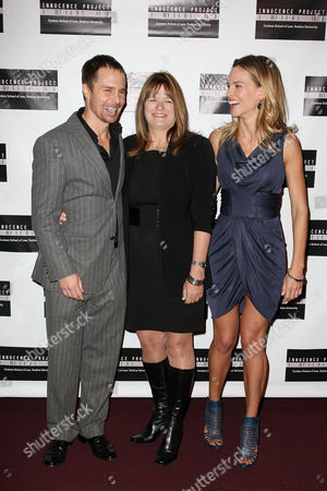 Sam Rockwell, Betty Anne Waters and Hilary Swank