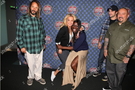 Tony Alva, Hayden Panettiere, Nicole Young, Jordan Buckley and Mister Cartoon