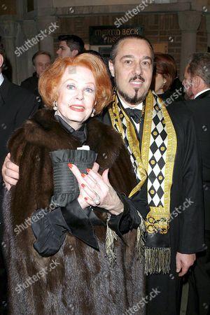 Stock Image of Arlene Dahl and Marc Rosen