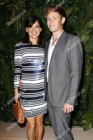 Stock Image of Perrey Reeves and John Musser Golden