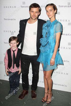 Joey Green, Oliver Ackland and Isabel Lucas