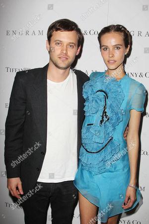 Oliver Ackland and Isabel Lucas