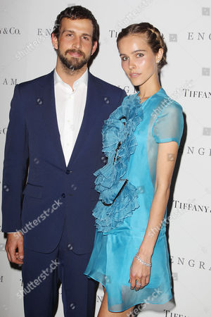 Stock Image of Chadd Konig and Isabel Lucas