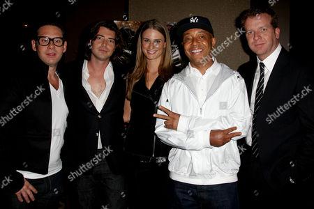 Derek Anderson, Victor Kubicek (Producers), Julie Henderson, Russell Simmons and McG