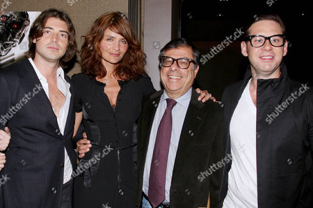 Victor Kubicek (Producer), Helena Christensen, Bob Colacello and Derek Anderson (Producer)