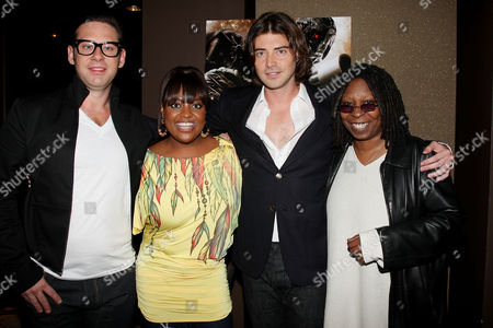 Derek Anderson (Producer), Sherri Shepherd, Victor Kubicek (Producer) and Whoopi Goldberg