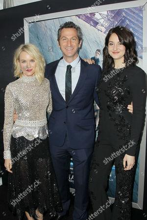 Naomi Watts, Erik Feig (Co-Chair Lionsgate), Shailene Woodley