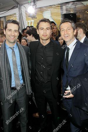 Todd Lieberman (ExecProducer), Theo James, Erik Feig (Co-Chair Lionsgate), Shailene Woodley