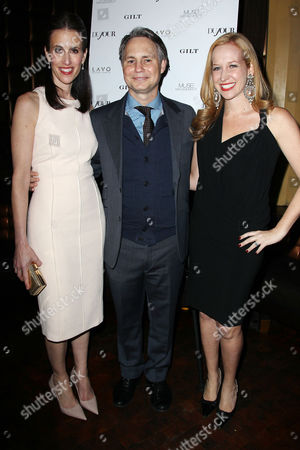 Stock Image of Michelle Peluso (CEO; Gilt), Jason Binn and Alexandra Wilkis Wilson (Founder; Gilt)