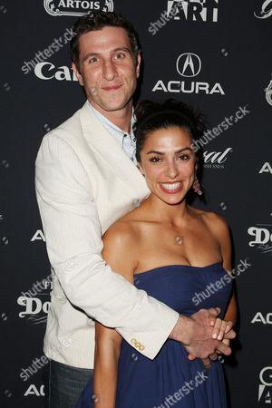 Pablo Schreiber with wife Jessica Schreiber