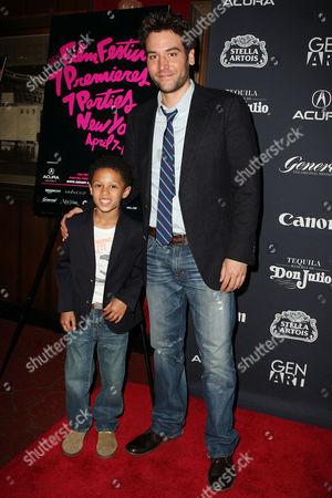 Josh Radnor and Michael Algieri