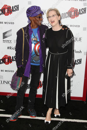 Stock Photo of Bernie Worrell and Meryl Streep