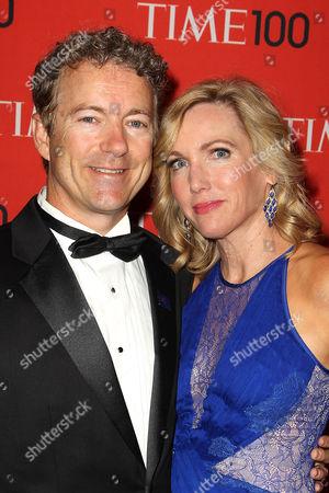 Rand Paul and Kelley Ashby