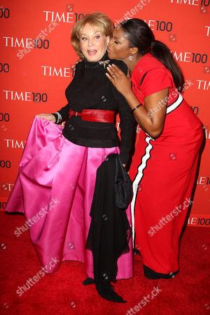 Barbara Walters and Omotola Jalade Ekeinde