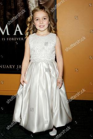 Editorial image of 'Mama' film screening, New York, America - 07 Jan 2013