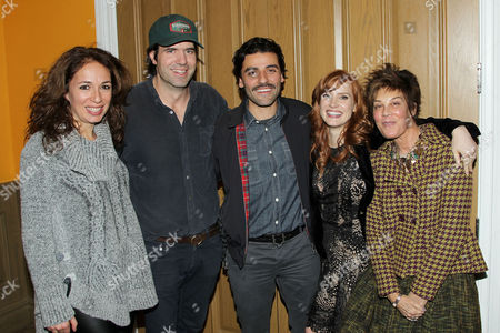 Anna Gerb (Producer), J.C. Chandor (Director/Writer), Oscar Isaac, Jessica Chastain, Peggy Siegal