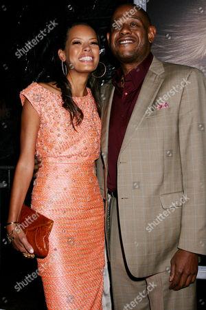 Keisha Nash Whitaker and Forest Whitaker