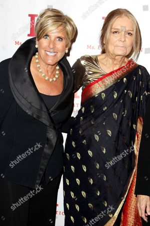 Suze Orman and Gloria Steinem