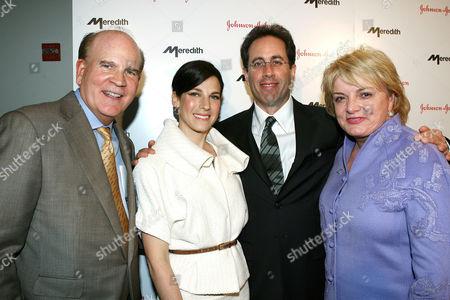 Bob Wright, Jessica Seinfeld, Jerry Seinfeld and Suzanne Wright