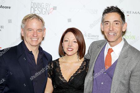 Stock Photo of Marc Blackwell, Dawn Roberson (DIFFA), Eric Reinitz