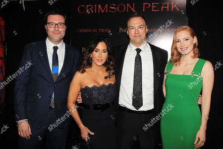 Editorial photo of 'Crimson Peak' film premiere, New York, America - 14 Oct 2015