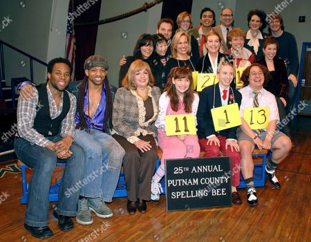 Editorial picture of Julie Andrews joins the cast of 'The 25th Annual Putnam County Spelling Bee' musical as a guest speller, Circle in the Square Theatre, New York, America - 30 Jan 2007