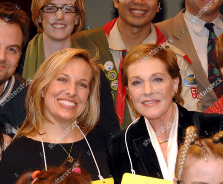 Editorial photo of Julie Andrews joins the cast of 'The 25th Annual Putnam County Spelling Bee' musical as a guest speller, Circle in the Square Theatre, New York, America - 30 Jan 2007