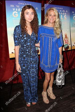 Violet Lepore and Nanette Lepore