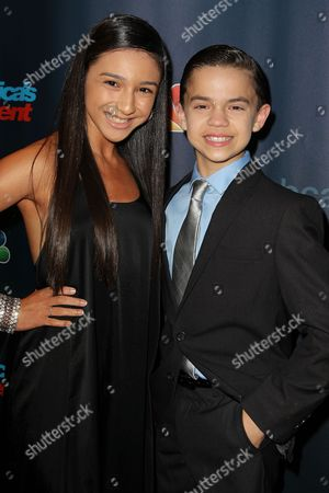 Stock Picture of Amanda Carbajales and D'Angelo Castro