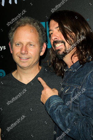 Rob Burnett and Dave Grohl