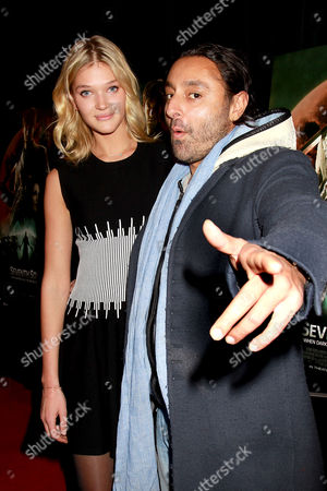 Stock Image of Guest and Vikram Chatwal