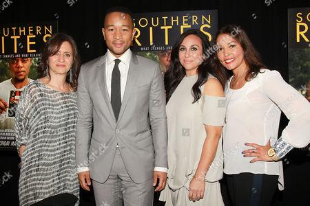Stock Picture of Lisa Heller, John Legend, Gillian Laub, Lucinda Martinez