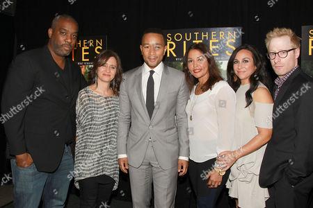 Stock Image of Mike Jackson, Lisa Heller, John Legend, Gillian Laub, Lucinda Martin