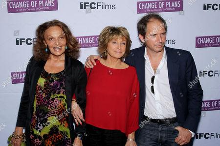 Diane von Furstenberg, Daniele Thompson (Writer, Director) and Christopher Thompson (Writer, Actor)