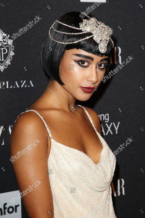 Editorial photo of Harper's Bazaar Celebrate Icons by Carine Outfield, New York, America - 05 Sep 2014