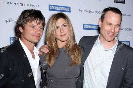 Steve Zahn, Jennifer Aniston and Director Stephen Belber