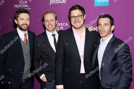 Topher Grace, Lee Kirk, Rich Sommer and Chris Messina