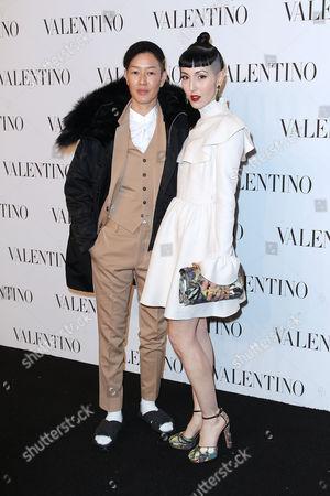 Editorial image of Valentino Sala Bianca 945 Event, New York, America - 10 Dec 2014