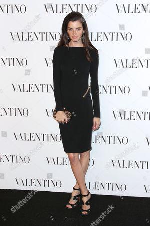 Editorial picture of Valentino Sala Bianca 945 Event, New York, America - 10 Dec 2014