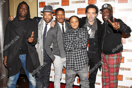 Jeymes Samuel, Daniel Cherry, Nate Parker, Felicia Pearson, Jules Parker and Michael Kenneth Williams