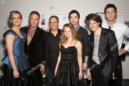 Cast of 'Teeth' - Jess Weixler, Mitchell Lichtenstein, Julia Garro, John Hensley, Ashley Springer and Hale Appleman