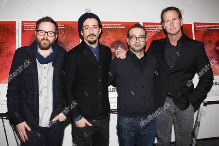 Sean Durkin, Josh Mond, Antonio Campos and Matt Palmieri