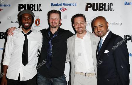 Nyambi Nyambi, Bill Heck, Matthew Rauch and Francois Battiste